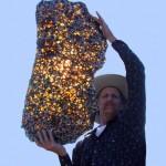 Красивый и таинственный метеорит!