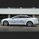 Гибридный люкс-седан Jaguar потребляет топлива, как малолитражка!