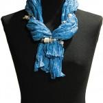 Как завязывать шарфы и палантины!